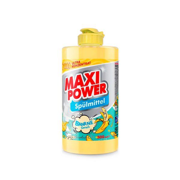 Засіб для миття посуду Maxi Power Banane