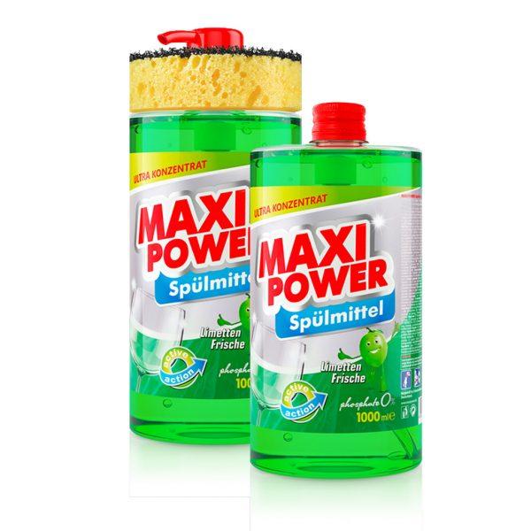 Dishwashing detergent Maxi Power Lime